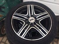 Alloy wheels muti fit £75