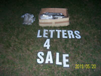 Portable Sign Letters