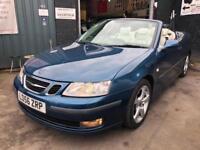 SAAB 9-3 VECTOR T 2.0 Blue Auto Petrol, 2006 (56)