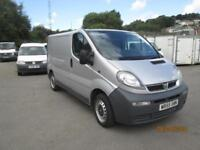 2005/55 Vauxhall Vivaro 1.9CDTI ( 82ps ) 2700 SWB *** NO VAT ***