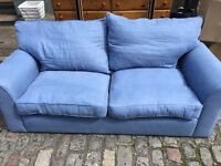 LARGE TWO SEATER SOFA WITH DELIVERY