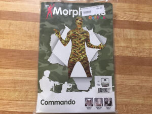 Kids Morph Suit - Camo - Costume Size Medium
