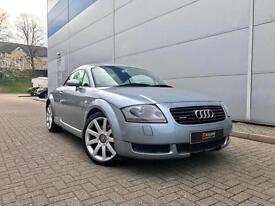 2002 02 reg Audi TT Coupe 1.8T quattro 225 + Mettalic Grey
