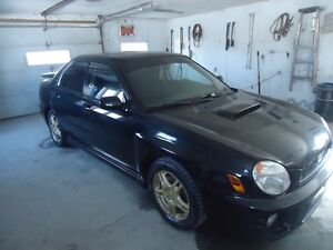 2002 Subaru WRX turbo integral