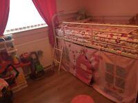 Mid single girls bed frame