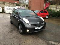 Nissan Micra Sport CC PETROL MANUAL 2007 FUN COMPACT CONVERTIBLE MOT & WARRANTY
