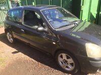 Clio braking