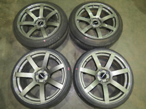 JDM Euro Labo Rims DNA DRF S7 Rims 5X114.3 Rims 18inch staggered