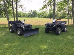 Polaris Sportsman and Trailer Package