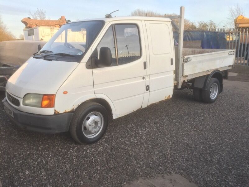 Ford Transit  Crew Cab Dropside Pick Up Spares Or Repair Not Tipper Recovery