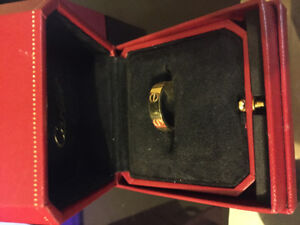 Cartier Love ring - Size 10