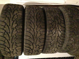 215/60R15 winter tires. Set of four. LOTS of tread
