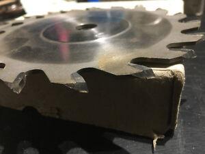 """6"""" Carbide Dado Blade set. Perfect condition. 1/8"""" to 13/16"""" Belleville Belleville Area image 4"""