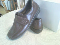 Brown Rhodes Leather Shoes  size UK 51/2 or US 7.5/8