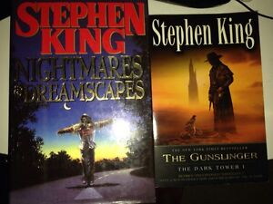 Steven King books