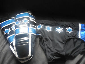 CM Punk Tights and Kick Pads WWE UFC