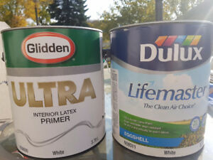 Dulux Lifemaster paint and primer