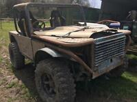 Land Rover Off Road Buggy / Trialer, 300tdi Kam Locker etc