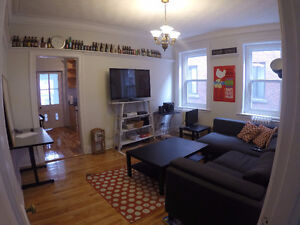 Espectacular 4 bedrooms + living room McGill Ghetto Oct 1st