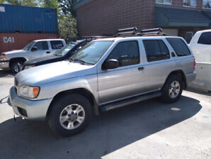 2002 Nissan Pathfinder 4WD – mechanics special Canmore