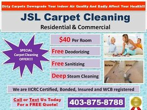 !!!SPECIAL DISCOUNT CARPET CLEANING & JUNK REMOVAL - CALL NOW!