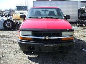 PARTS AVAILABLE FOR A 2003 CHEVROLET S10