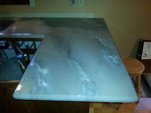 comptoir, panneaux ou autres en epoxy imitation marbre, quartz,, Saint-Hyacinthe Québec image 6