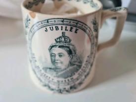 Antique Queen Victoria mug