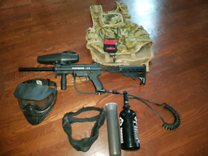 Paintball complete kit. Tipman A5 (only used once)