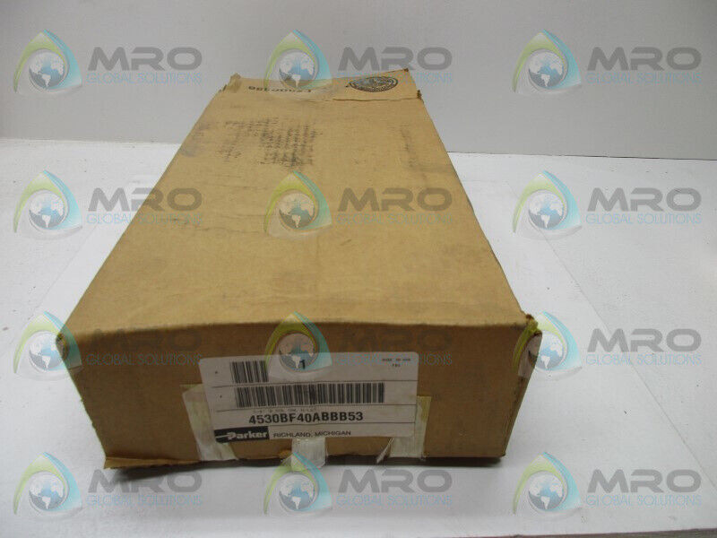 PARKER 4530BF40ABBB53 PNEUMATIC VALVE * NEW IN BOX *