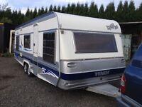 Fendt twin axle caravan