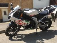 RIEJU RS3 2014 50cc LEARNER MOTORBIKE JUST 4000 MILES
