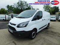 FORD TRANSIT CUSTOM 2.2TDCi 100PS DOUBLE CAB 2013 290 L1H1 AWESOME CREW VAN