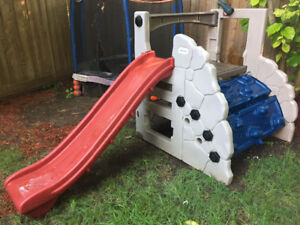 Kid Little Tikes Backyard Slide Climber