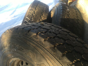 235x85x16 Goodyear wrangler winter