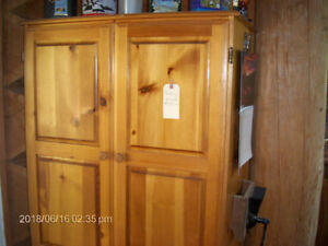 Wood Pantry/Armoire