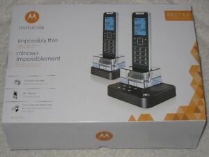 CORDLESS PHONE W. ANSWERING MACHINE -MOTOROLA IT6-2 - BRANDNEW!