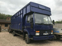 1991 Iveco 813 cargo 6cyl horsetruck lorry 7.5 tonn 12 mot plate px
