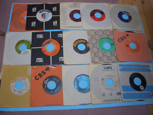VINTAGE 45S RECORDS 70S AND 80S MEAT LOAF, ASIA, AC/DC ETC London Ontario image 4