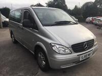 55 plate Mercedes-Benz Vito traveliner ex mpv poss dayvan camper?