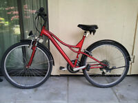 Adult Road Bicycle for Sale - Red / Made in Canada $300 OBO
