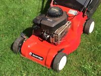 Sovereign Briggs and Stratton Petrol Lawnmower