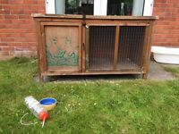 Pets at home 'poppy den' Hutch £15ono