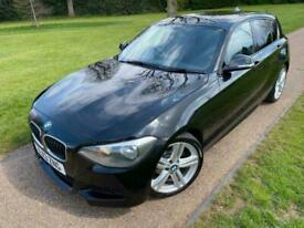 image for BMW 118D M SPORT 2013 (13) 2.0 DIESEL HATCH 5DR BLACK MANUAL