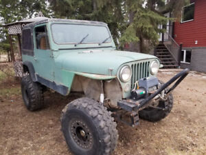 1978 CJ7 extremely capable jeep on and off road