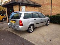 2001 Ford Focus 1.6 petrol Estate Car Automatic Good runner Tax&mot