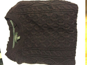 New Banana Republic Men's Cable Knit Sweater - size large