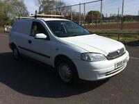 2005 Vauxhall Astra van COMPLETE WITH M.O.T AND WARRANTY