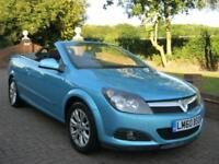 VAUXHALL ASTRA 1.6i 16v SPORT TWIN TOP CONVERTIBLE 2DR 2010 60