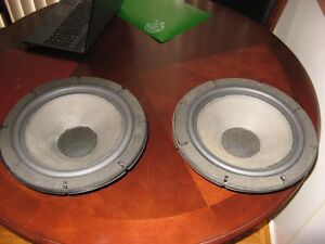 VINTAGE PAIR OF  ALTEC LANSING SPEAKERS FOR CABINETS